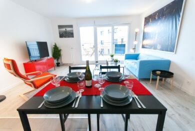 salon appartement - Saint Ouen
